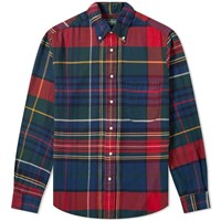 Gitman Brothers Vintage Big Check Flannel Shirt Multi