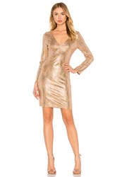 Wyldr Eveline Mini Dress Metallic Silver