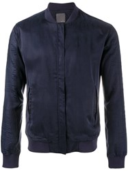 Lot 78 Lot78 Bomber Jacket Blue