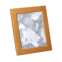 Graphic Image Tan Leather Frame 8'X10