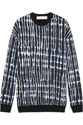 Stella Mccartney Quilted Cotton Blend Jersey Sweatshirt