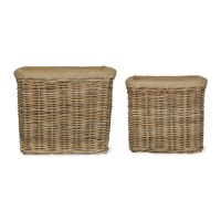 Garden Trading Bembridge Basket Rattan Set Of 2