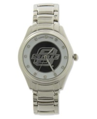 Game Time Pro Women's Oklahoma State Cowboys Wild Card Watch Black Silver