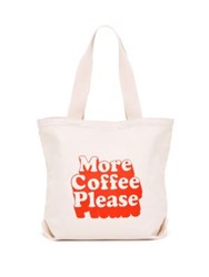 Ban.Do More Coffee Please Big Canvas Tote No Color
