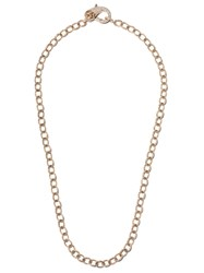 Loree Rodkin 14Kt Gold Diamond 22 Medium Flinstone Chain Necklace 60
