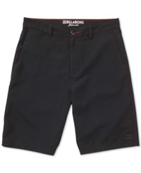 Billabong Men's Carter Submersible Hybrid Shorts Black