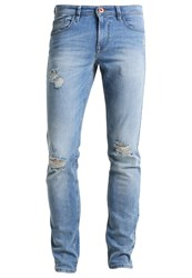 Tom Tailor Denim Culver Slim Fit Jeans Bleached Blue Denim Tint Light Blue Denim