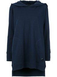 Andrea Bogosian Embroidered Hoodie Blue