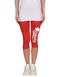 Carlsberg Trousers Leggings Women Red