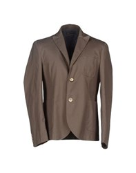 Roberto Pepe Suits And Jackets Blazers Men Military Green