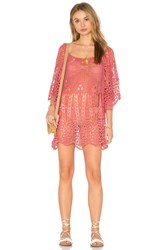Eberjey Spearhead Gianna Cover Up Pink