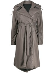 Isaac Sellam Experience Padded Oversized Trench Coat 60