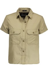 Nlst Washed Twill Shirt Tan