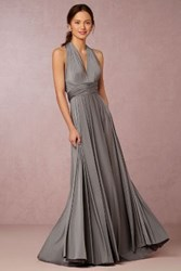 Anthropologie Ginger Convertible Maxi Dark Grey