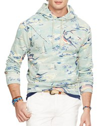 Polo Ralph Lauren Printed Fleece Hoodie Beach