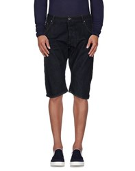 G Star G Star Raw Denim Denim Bermudas Men Blue
