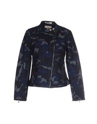 Timeout Coats And Jackets Jackets Women Dark Blue