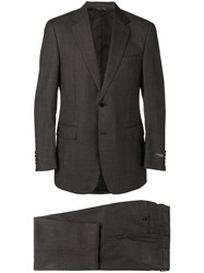 Canali Two Piece Regular Fit Suit Grey