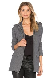 James Perse Field Jacket Gray