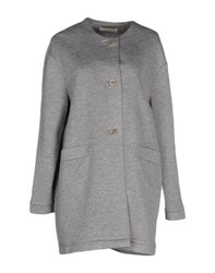 Sessun Coats And Jackets Full Length Jackets Women Grey