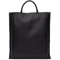 Smythson Black Bond Shopper Tote