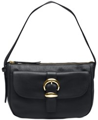 Dkny Bessie Small Hobo Created For Macy's Black