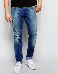 Replay Jeans Anbass Slim Fit Powerstretch Light Wash Blue