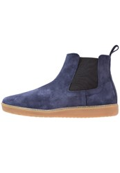 Kiomi Boots Navy Dark Blue