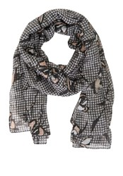 Betty And Co. Gingham Print Scarf Multi Coloured Multi Coloured