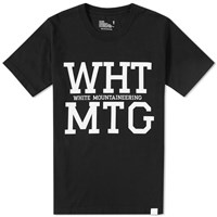 White Mountaineering Wht Mtg Tee Black