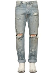 Faith Connexion 16Cm Distressed Cotton Denim Jeans