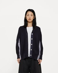 Sacai Cotton Knit Cardigan
