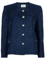 Gianfranco Ferre Vintage Skirt Suit Blue