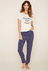 Forever 21 Nap Time Pj Set