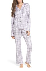 Ugg Raven Plaid Pajamas Lavender Aura Plaid