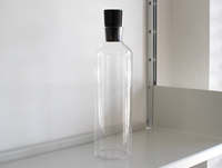Glass Bottle With Urushi Stopper By Hirota Glass Oen Shop