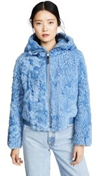 Mackage Reversible Zinnia Jacket Cobalt