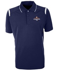 Antigua Houston Astros 2017 World Series Champ Merit Polo Navy
