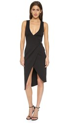 Bec And Bridge Desert Of Paradise Wrap Dress Black