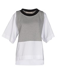 Tela Topwear Sweatshirts Women Grey