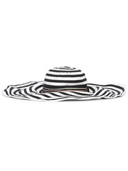 Missoni Striped Wide Brim Hat Black