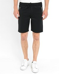 Minimum Black Bradford Print Pr Shorts