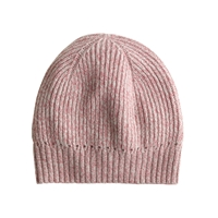 J.Crew Ribbed Beanie Rose Dusk