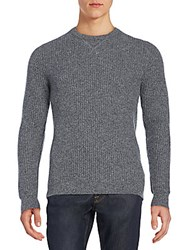Saks Fifth Avenue Thermal Cashmere Sweater Icey Dawn