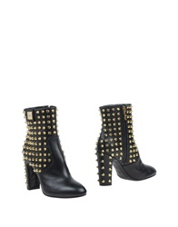 John Richmond Ankle Boots Black