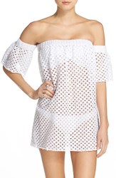 Milly Women's Off The Shoulder Cover Up