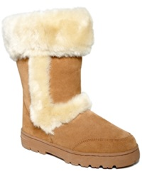 Style And Co. Witty Faux Fur Cold Weather Boots Women's Shoes