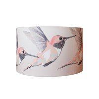 Anna Jacobs Rose Hummer Lampshade Large