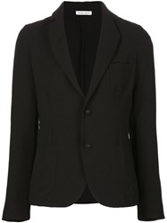 Tomas Maier Two Button Blazer Black