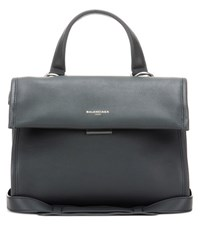 Balenciaga Tool Satchel Small Leather Tote Bag Black